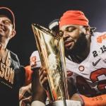 Clemson se proclama campeón nacional de NCAA