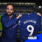 Gonzalo Higuaín jugará con el Chelsea hasta final de temporada