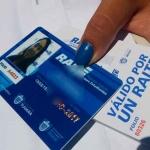 Entrega de tarjetas y boletos del programa Raite