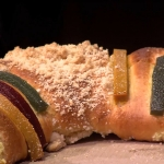 Disfruta una rica Rosca de Reyes