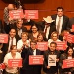 Mario Delgado promete que habrá legislación de avanzada en derechos indígenas