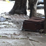 Localizan restos humanos dentro de una maleta en Tijuana