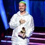J Balvin estuvo muy bien acompañado en la alfombra roja de los Grammys 2019
