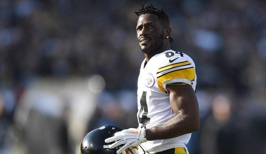 Antonio Brown se va con los Raiders de Oakland
