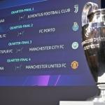Definidos los choques en 4tos de final de Champions League