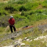 Se electrocuta hombre en las faldas de un cerro en Tijuana