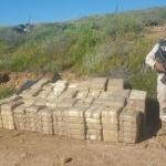 """Militares aseguran 382 paquetes de marihuana en operación """"Neptuno"""""""