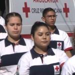Cruz Roja realiza su tradicional desfile por el arranque de la colecta anual 2019