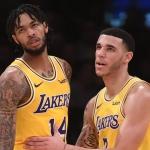 Lakers no contarán con Lonzo y Brandon el resto de la temporada