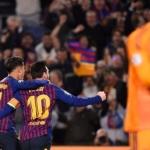 Barcelona avanza a semifinales caminando ante el Manchester United