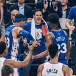 76ers contraataca a Raptors en segundo juego