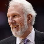 Gregg Popovich el coach más ganador de NBA