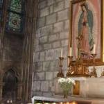 Virgen de Guadalupe sobrevivió al incendio de Notre Dame