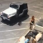 Arrestan a mujer que tiró bolsa con cachorros a la basura