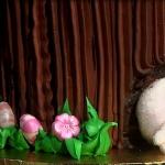 Elaboración de un pastel para pascua