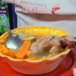 Caldo de rata con verduras para curarse la anemia y la cruda