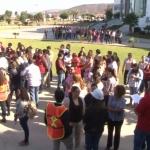 """Dos """"muertos"""" en simulacro de sismo en Ensenada"""