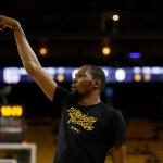 Kevin Durant no viajará con Warriors a Portland
