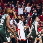 Raptors empatan la serie contra Bucks