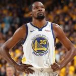 Kevin Durant se ausentará en el juego 1 de la final