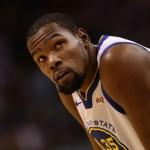 Kevin Durant descartado para juego 1 vs Portland