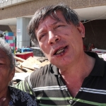 Vendedoras ambulantes desmantelan campamento de Baja California Resiste