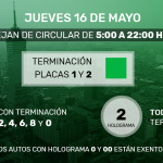 Valle de México: Por contingencia ambiental se activa 'Doble Hoy No Circula'
