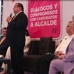 Dialogan candidatos a la alcaldía de Mexicali ante empresarios de la Coparmex