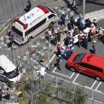 Accidente vial deja dos niños muertos y 11 heridos en Japón
