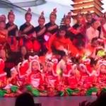 Un muerto y 14 heridos tras colapsar escenario escolar en China