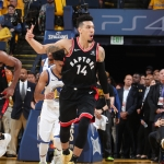 Raptors llegan a 2 triunfos en la final