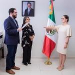 Nombran directora de Comunicación Social a Diana Escalante