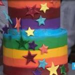 Pastel para la semana del orgullo gay