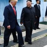Donald Trump es el primer presidente de EE.UU en pisar Corea del Norte