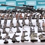 Trafican a México más de 200 mil armas al año desde EU