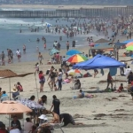 Esperan alta afluencia de visitantes el fin de semana en Playas de Tijuana