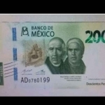 Billete de 200 pesos tendrá un cambio de imagen