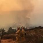 Incendio forestal en Tecate