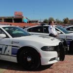 Entrega ayuntamiento 27 patrullas a la Dirección de Seguridad Pública