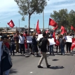 Cierran bulevar Benítez para exigir servicio de agua a CESPT