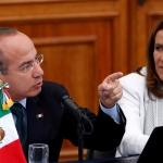 Calderón y Margarita Zavala registran ante el INE un nuevo partido político