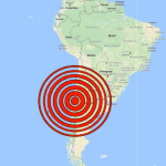 Sismo de 6.7 logró sacudir a Chile
