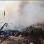 Incendio consume casa habitación en Mexicali