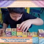 Taller multidisciplinario para niños con discapacidad