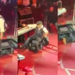 Alejandro Fernández se emborracha y cae en pleno concierto