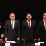 Durazo y Ojeda ante senadores defienden la Guardia Nacional