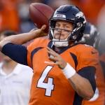 Broncos transfieren a Case Keenum hacia Pieles Rojas