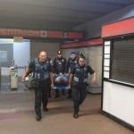 Ocho personas lesionadas en escalera eléctrica de CDMX