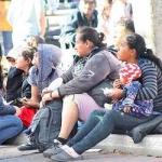 Madres retornadas esperan su audiencia a finales de marzo desde Tijuana