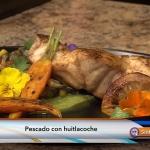 Pescado de Huitlacoche: Receta